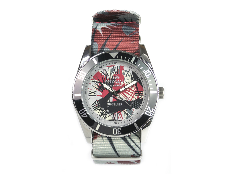 Speed Camouflage, Hippie-Unisex-Uhr, Look anthr...