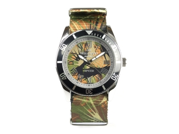 Speed Camouflage, Hippie-Unisex-Uhr, Look olive