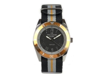 Speed striped natoband, orange bezel