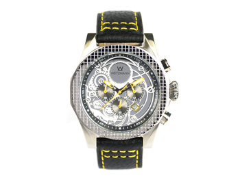 Thor silver, yellow pointer, buffalo leather strap