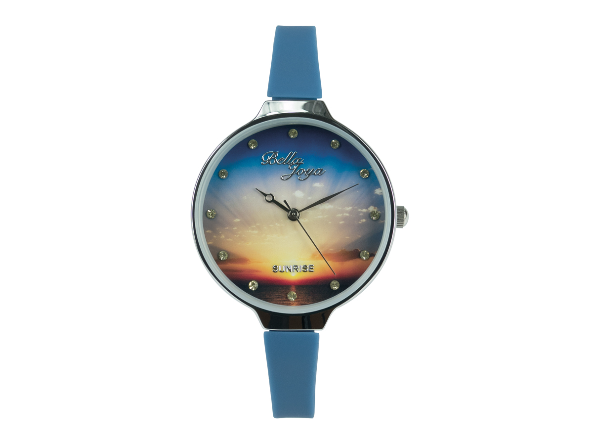 Sunrise, Band blau