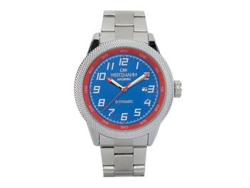 Dynamic blue/red, bezel pineapple