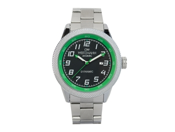 Dynamic black/green, bezel pineapple