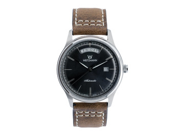 Sublime black, leather strap
