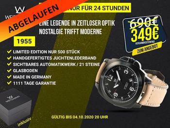 1955 schwarz - Aktionspreis bis 04.10.2020 20 Uhr