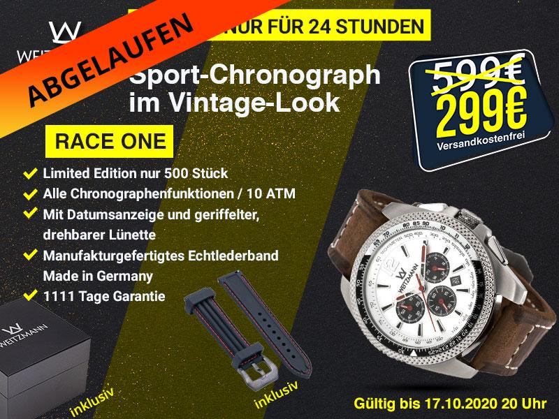 Race One weiß - Aktionspreis bis 17.10.2020 20 Uhr