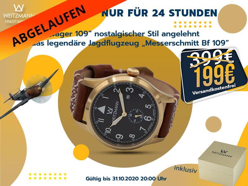 Jäger 109 gold/schw. - gültig bis 31.10.2020 20Uhr