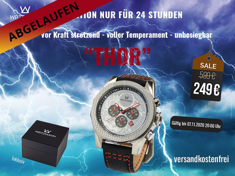Thor silber/rot Aktionspreis bis 07.11.2020 20 Uhr