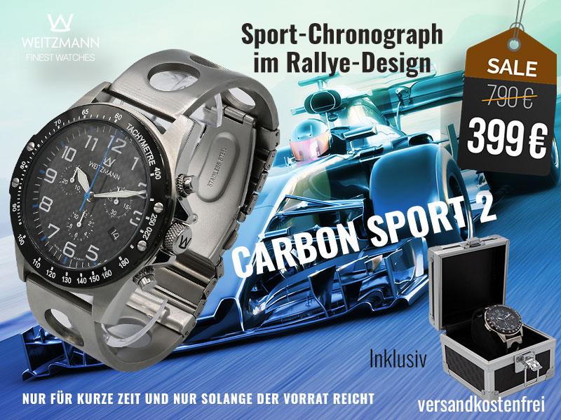 Carbon Sport 2 blau - SUPERDEAL