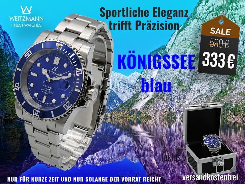 Königssee groß blau - SUPERDEAL
