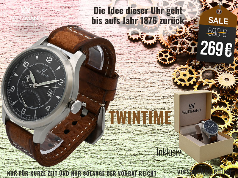Twintime anthrazit - SUPERDEAL