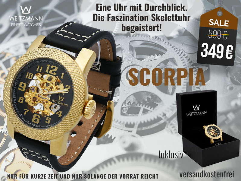 Scorpia gold/schwarz - SUPERDEAL