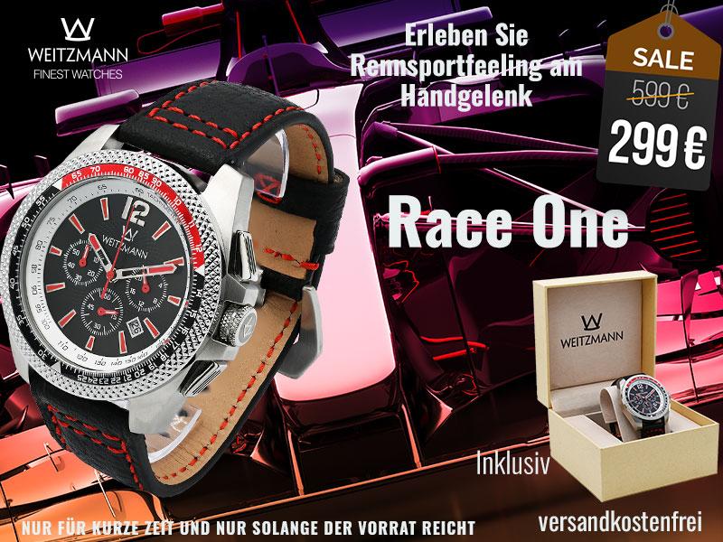 Race One rot/schwarz - SUPERDEAL
